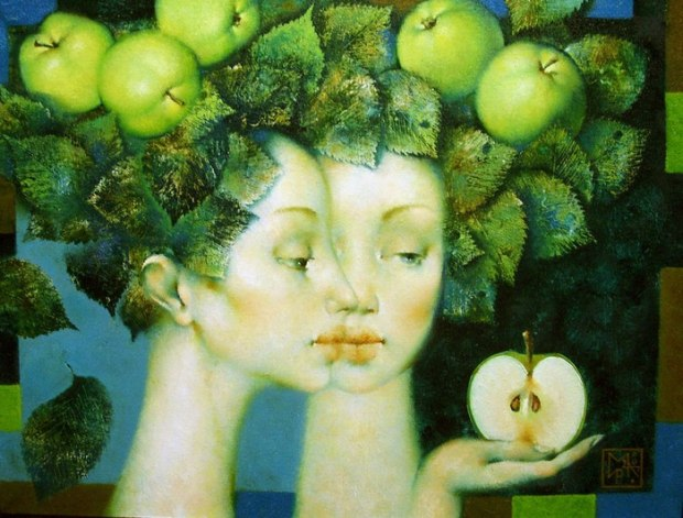 Стих к песне яблони