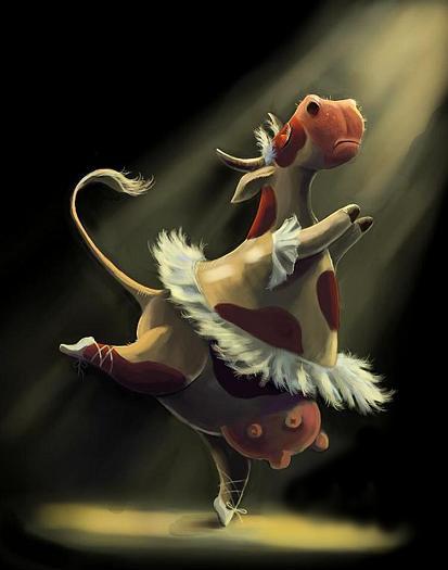 Грёзы коровы (на стихи Людмилы Шабалиной)