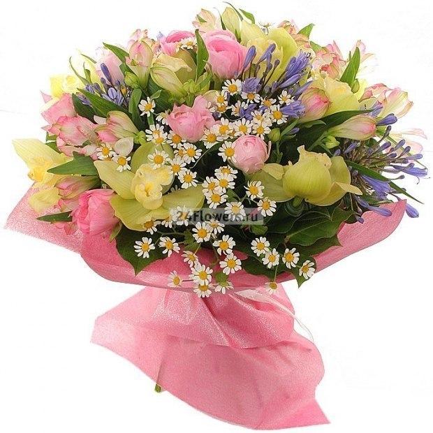 Поздравления с днем рождения цветы букеты, открытки