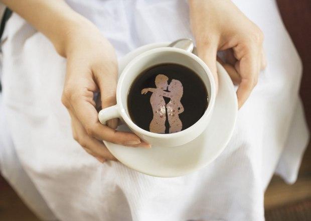 кофе любимому в постель фото