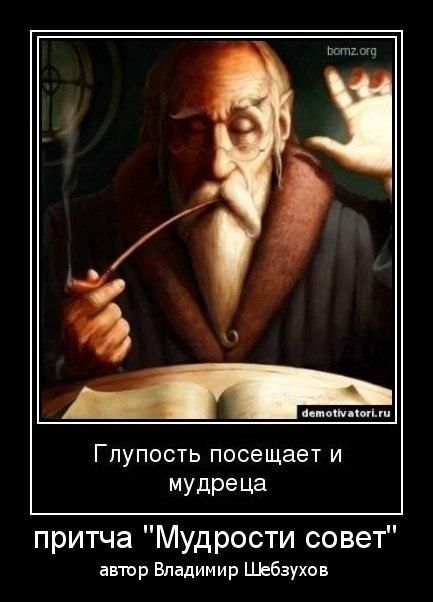 «Мудрости совет» (Владимир Шебзухов)