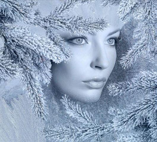 Заплутался в ресницах снег /стихи Люда Владимирская