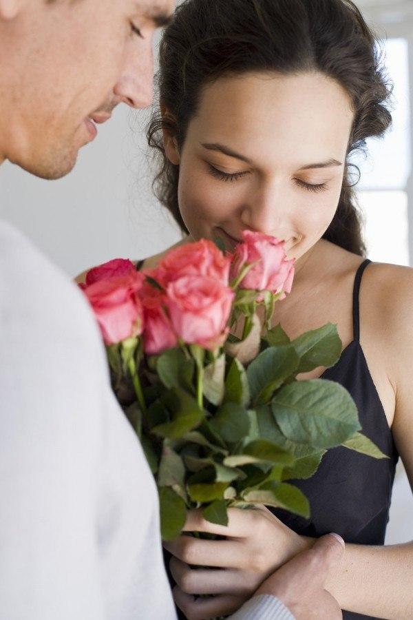 Февраля, картинки красивой паре цветы
