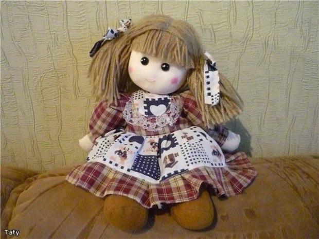 Тряпичной куклы своими руками