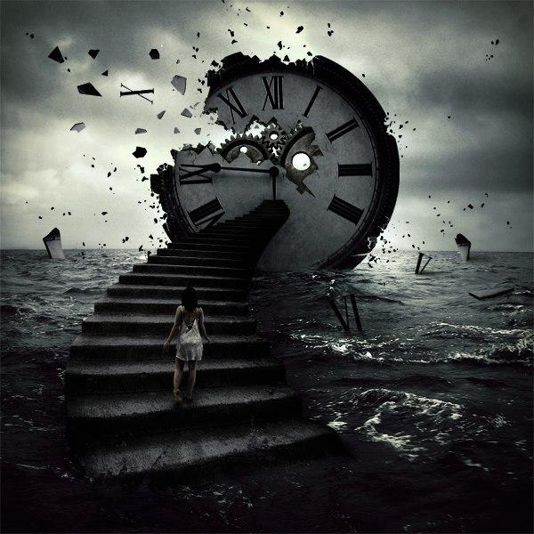 Картинки необычные идущие часы такой букет