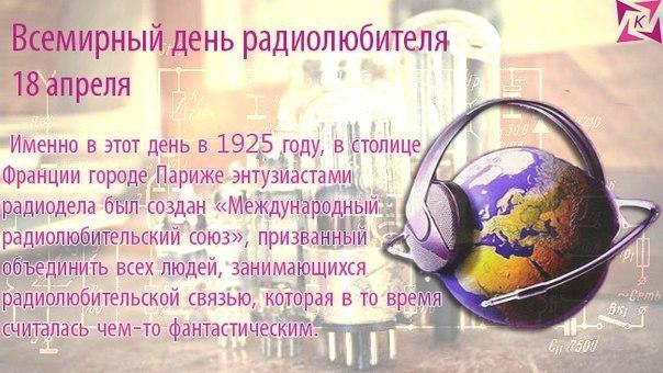 Открытки с Днем радиолюбителя