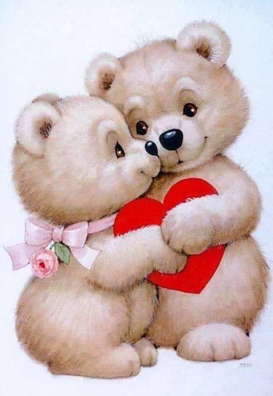 Милые любовные открытки, красивые