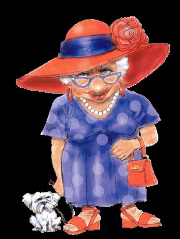 Картинки молодая бабушка прикольная
