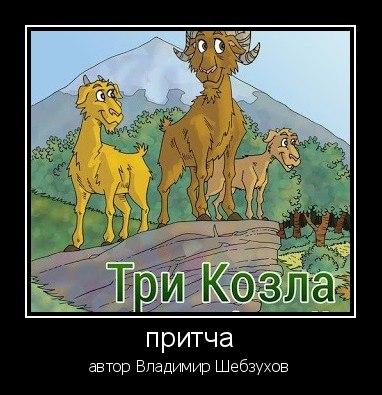 «Три козла» (Владимир Шебзухов)