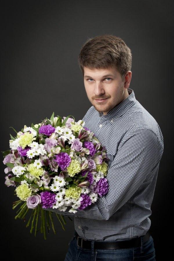 Старые новые, красивые картинки с цветами для мужчины