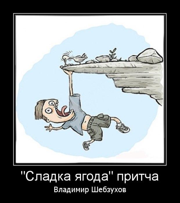 """Владимир Шебзухов """"Сладка ягода"""" читает автор (видео)"""