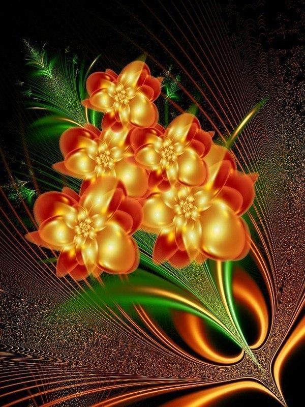 открытки двигающиеся цветы фото можете