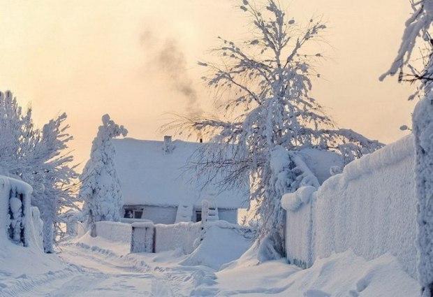 Картинки зима на мороз