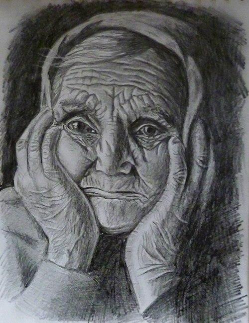 Луковый день, старость картинки для срисовки