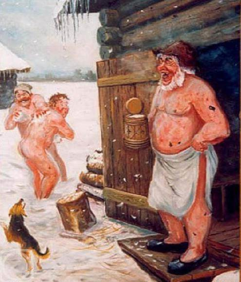 банщицы в мужском отделении фото