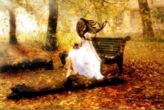 осень фото грусть