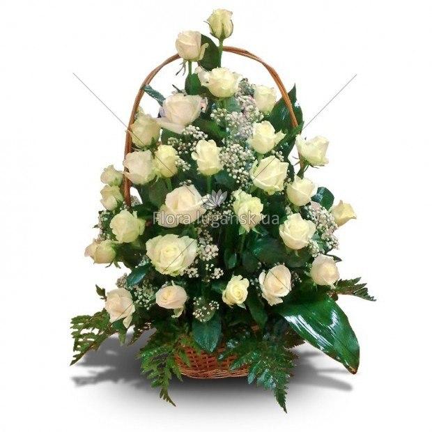 Самые красивые букеты цветов в корзине