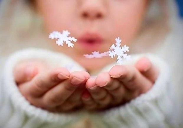 сказать, картинка снежинки радости только