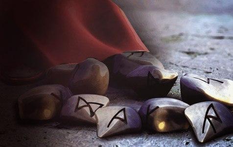 Руны из камня своими руками