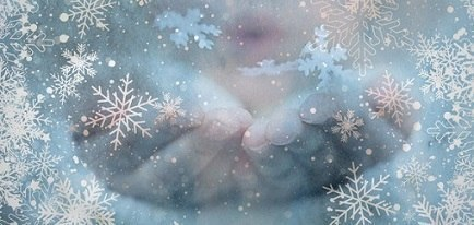 Падал снег...