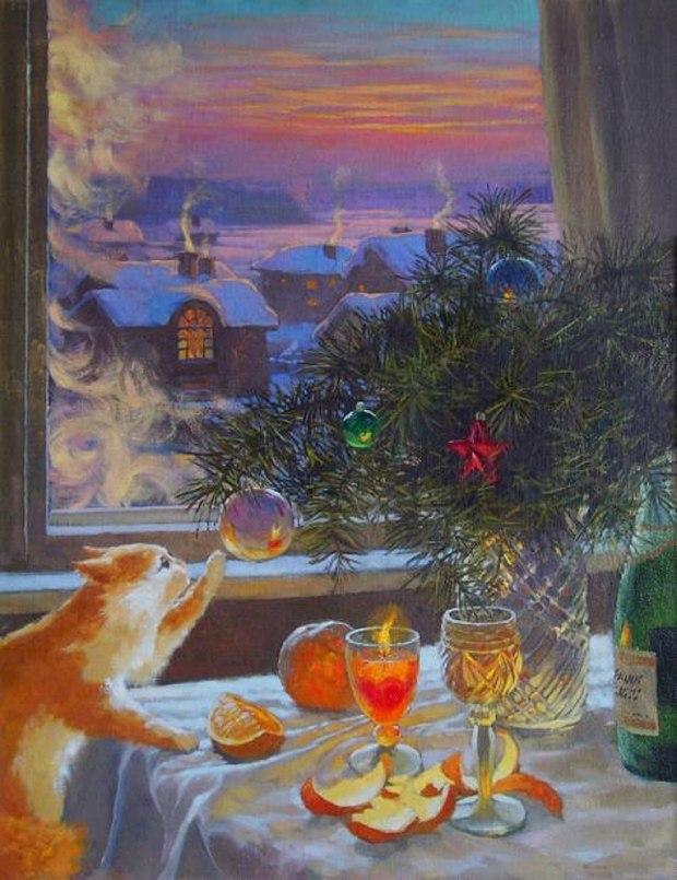 Картинки 31 декабря доброе утро, любимому