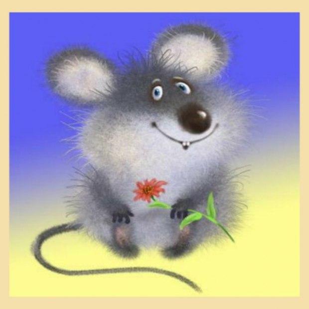 Днем семьи, с днем рождения открытки мыши