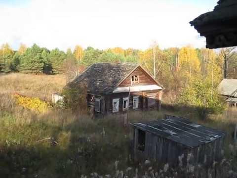 Опустела деревня