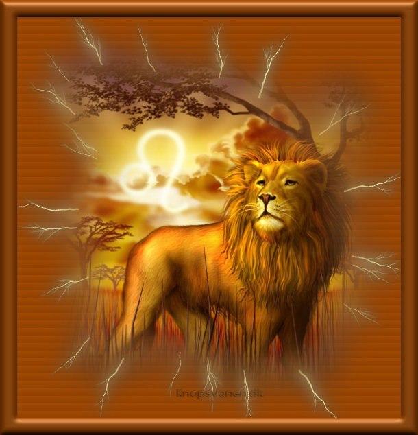 Под знаком льва поздравление