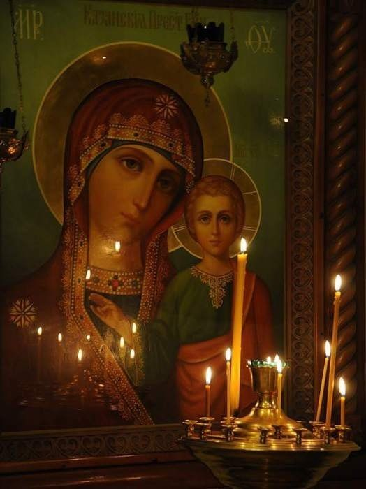 Погаснут свечи, тени алтаря...