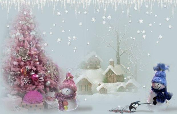 Снег кружится поздравления