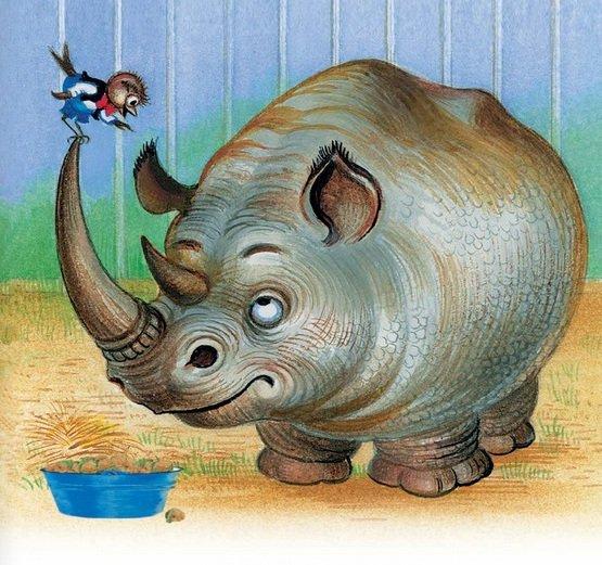 делаем носороги картинки с сказки правильно выбрать лак