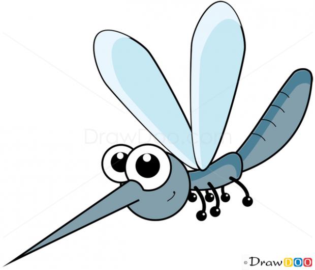 картинка для детей комар
