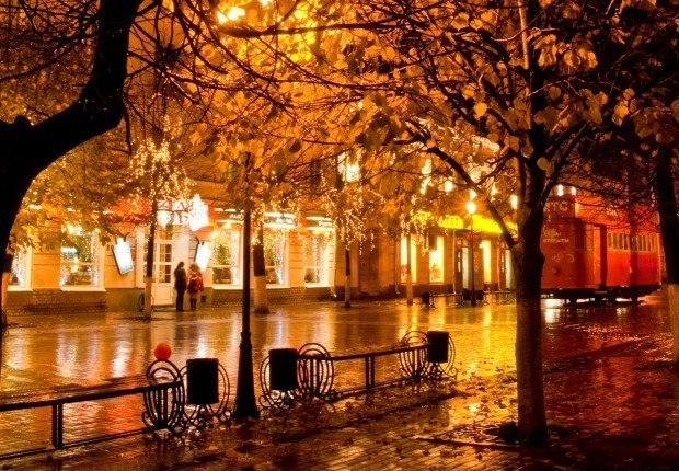 Картинки по запросу осень город фото
