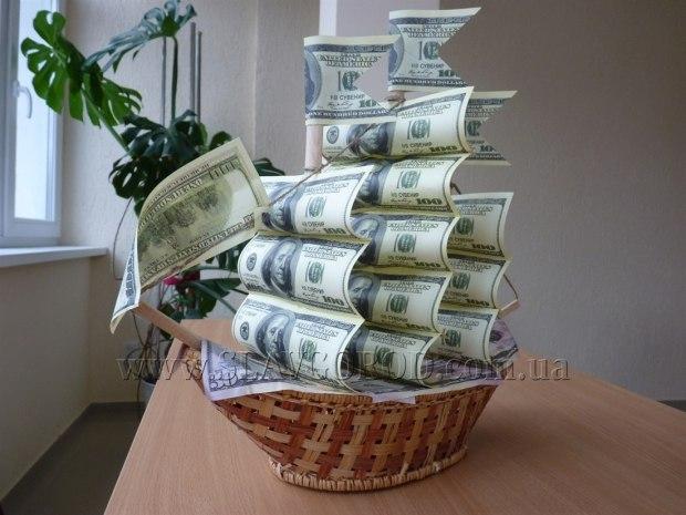 Поделки своими руками с деньгами