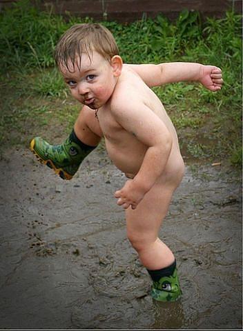 голые ребетишки фото