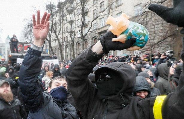 Начало свино-Майдана