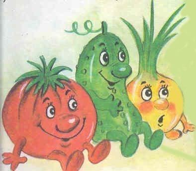 Стихи для детей про овощи | Мир детства