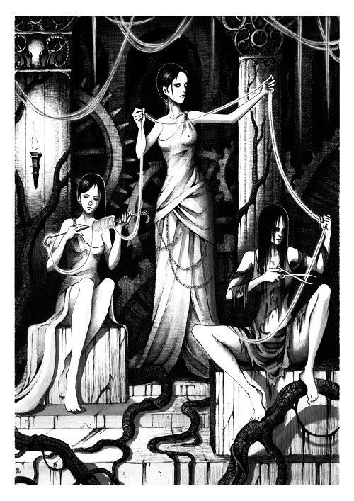 картинка богини атропос известно, всех
