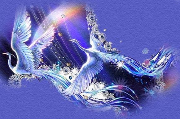 птица синяя счастья картинки