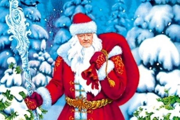 Новогодняя песня про деда мороза скачать