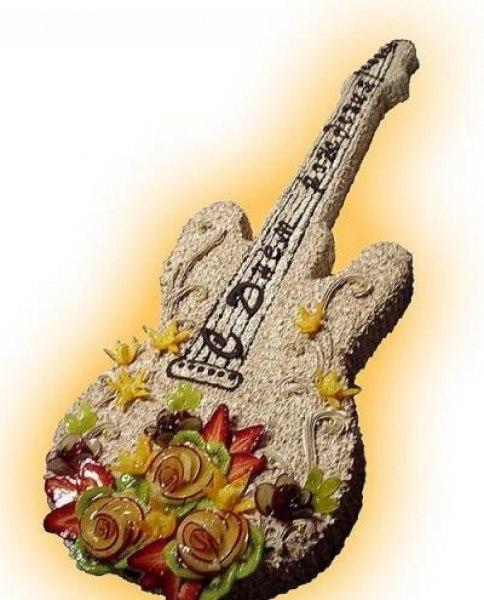 Открытки с день рождения с гитарой, это