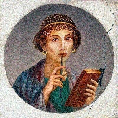 Сапфо ~ Поэзия (Поэмы и циклы стихов)