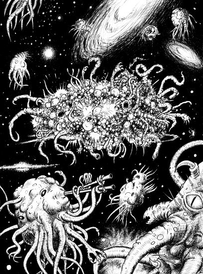 The dance with Azathoth