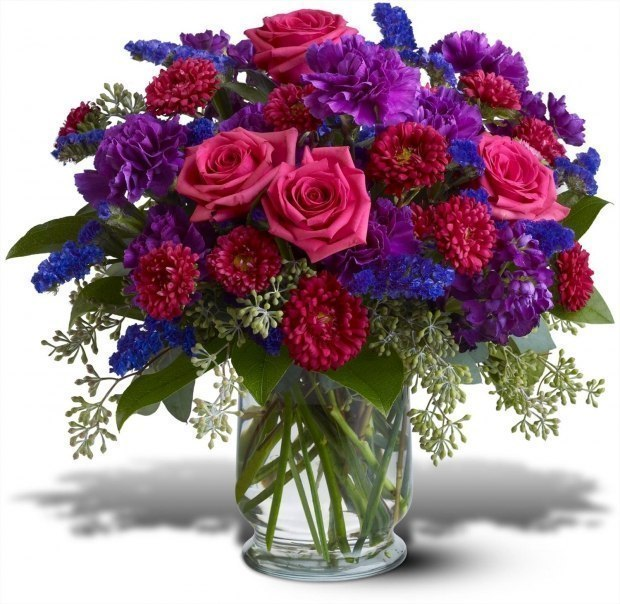 Спасибо букет цветов картинка